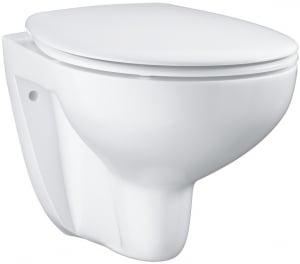 Vas WC Suspendat Grohe Bau Ceramic Rimless + Capac softclose0