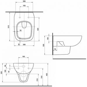 Vas WC Suspendat Kolo Style [2]