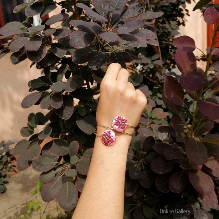 Bratara Reglabila Model Traditional Handmade