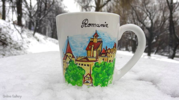 Cana pictata - Castelul Bran