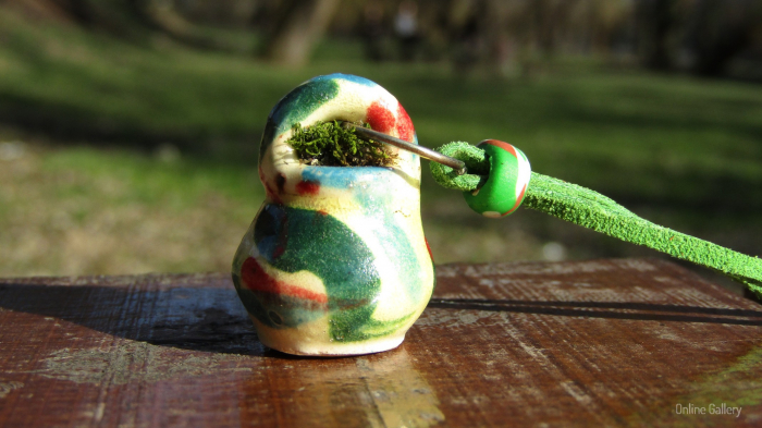 Pandantiv handmade – eco-chic natur 3
