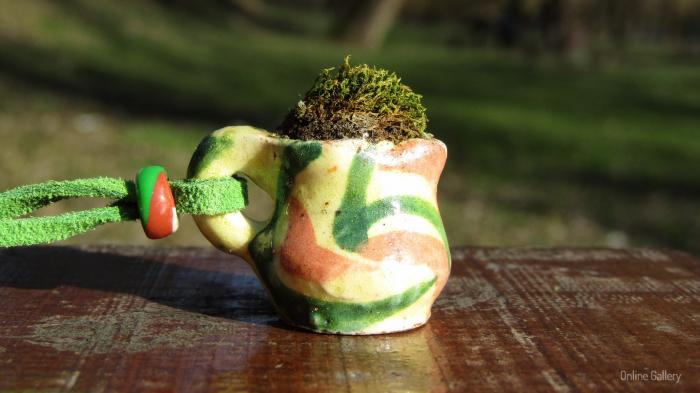 Pandantiv handmade – eco-chic natur 4