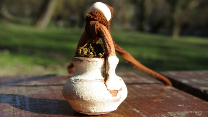 Pandantiv handmade – eco-chic natur 6