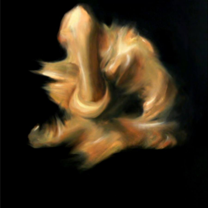 pictura nud moderna panza 0