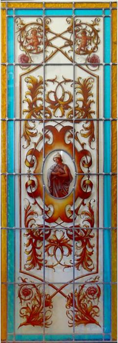 vitralii sticla colorata