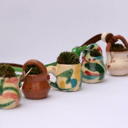 Pandantiv handmade – eco-chic natur0