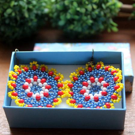 Cercei din mărgele - Multicolori0