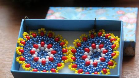 Cercei din mărgele - Multicolori1
