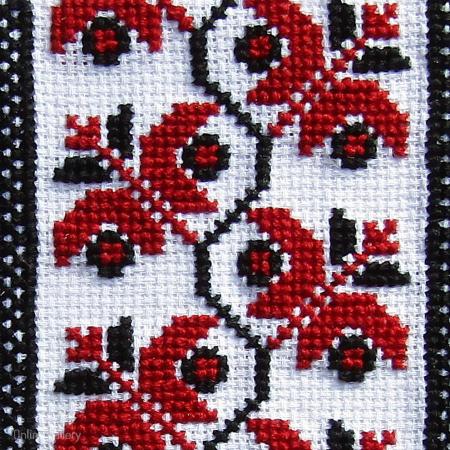 Felicitare cu flori handmade1