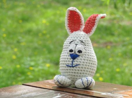 Jucărie iepuraș alb1