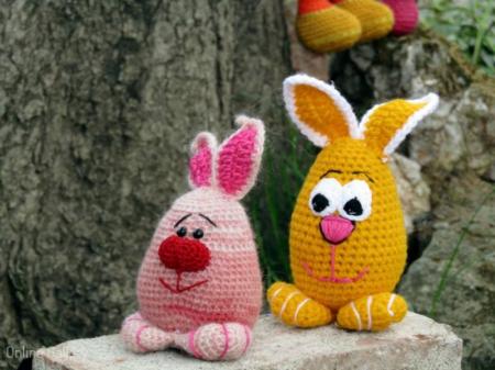 Jucărie iepuraș roz3