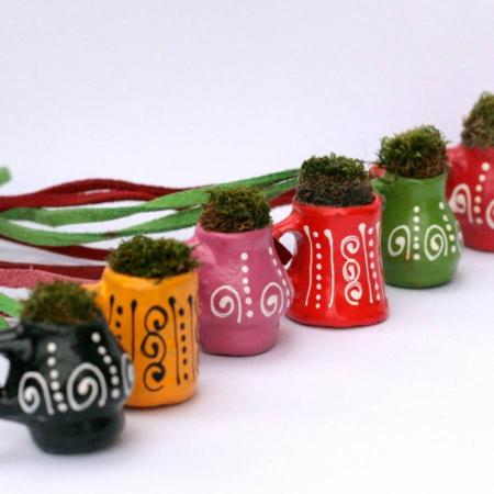 Pandantiv handmade – eco-chic