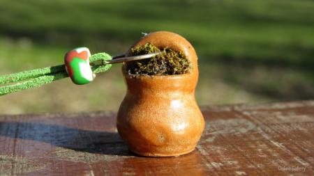 Pandantiv handmade – eco-chic natur1