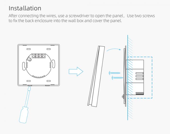 Intrerupator Smart cap scara Onsag X805 White [9]