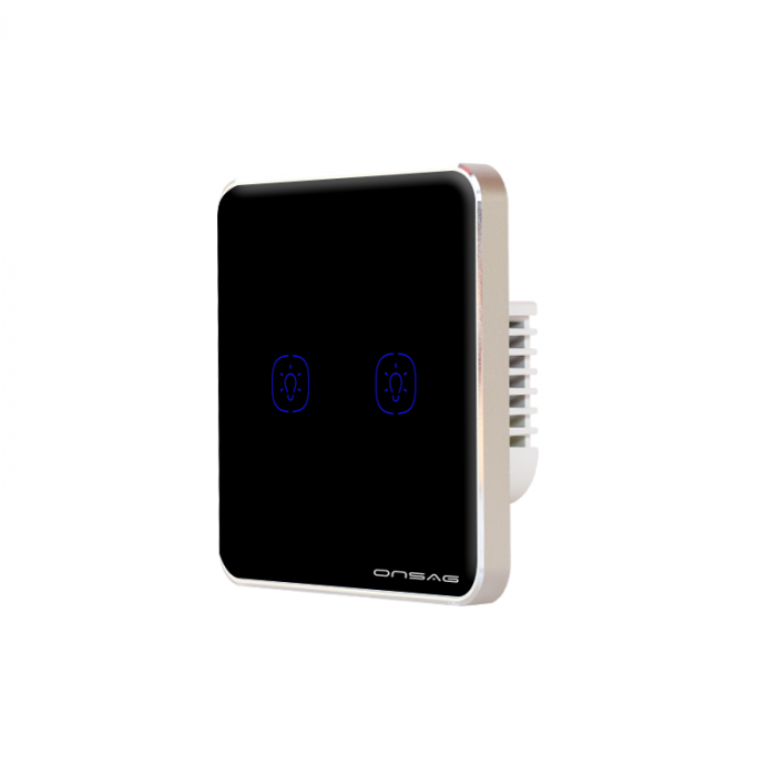 Intrerupator Smart Onsag Luxury X802U-L Pro Black [4]