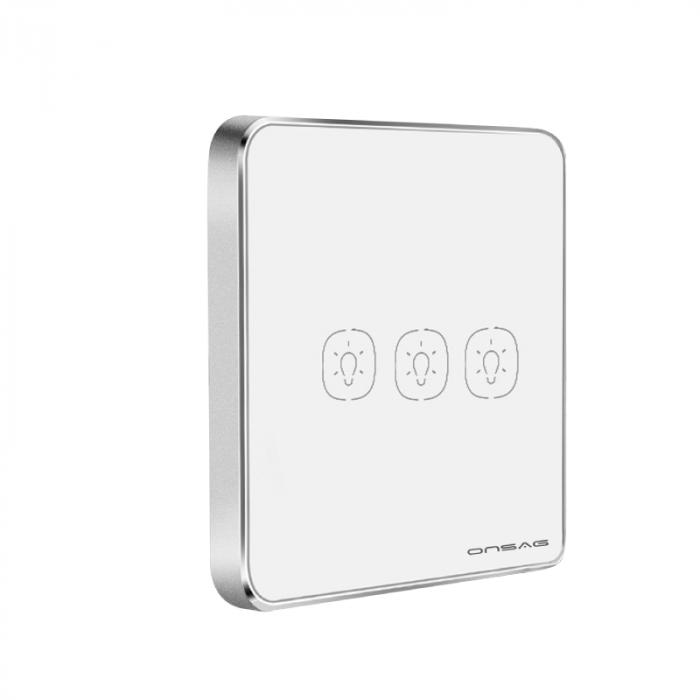 Intrerupator Smart Onsag Luxury X803U-L Pro White [5]