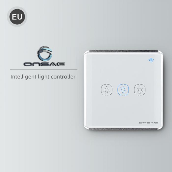 Intrerupator Smart Onsag Luxury X803U-L Pro White [4]