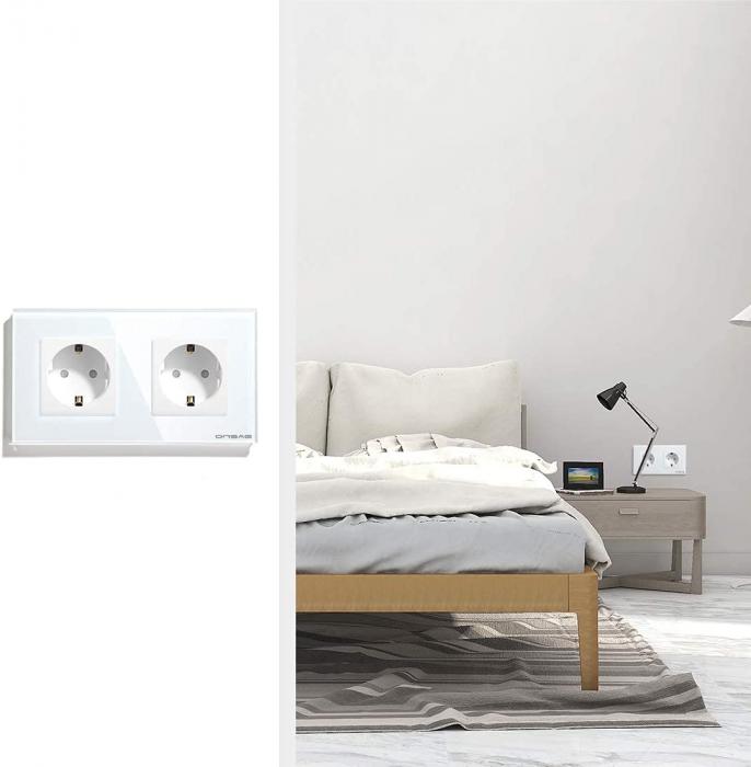Priza Smart WiFi dubla Onsag X302 White [3]