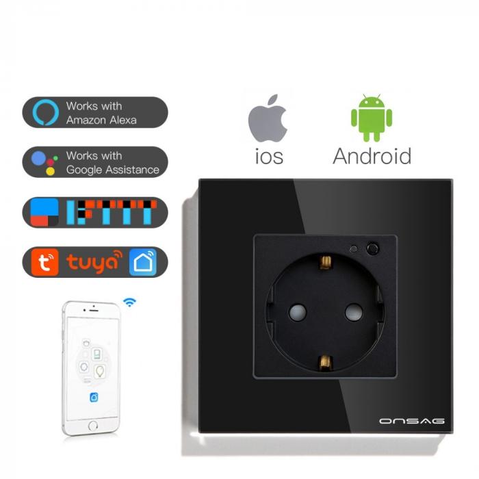 Priza Smart WiFi Onsag X301 Black [5]