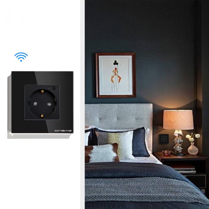 Priza Smart WiFi Onsag X301 Black [4]