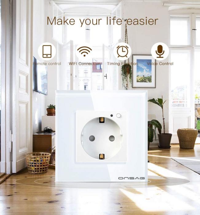 Priza Smart WiFi Onsag X301 White [5]