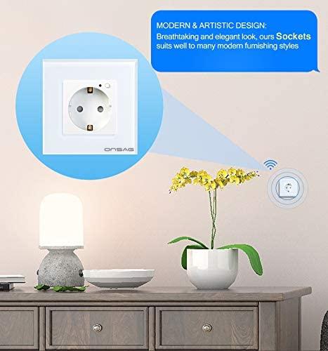 Priza Smart WiFi Onsag X301 White [8]