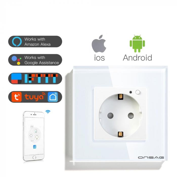Priza Smart WiFi Onsag X301 White [2]