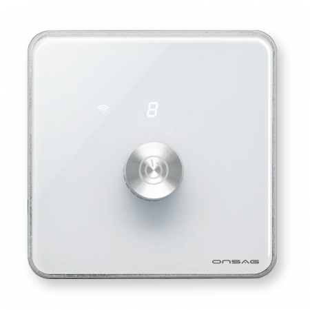 Intrerupator cu variator (Dimmer) Smart Onsag Luxury X806 White [4]