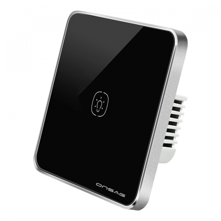 Intrerupator Smart Onsag Luxury X801U-L Pro Black [1]