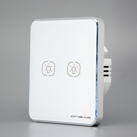 Intrerupator Smart Onsag Luxury X802U-L Pro White [3]