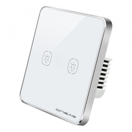 Intrerupator Smart Onsag Luxury X802U-L Pro White [2]