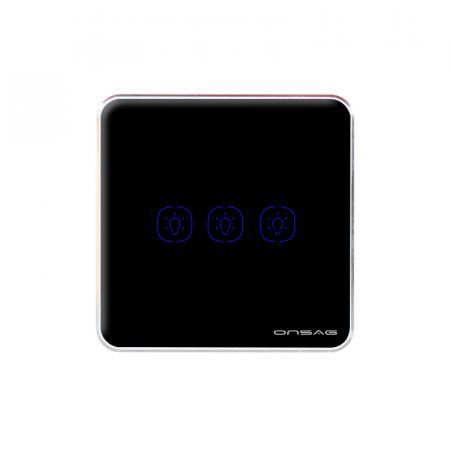Intrerupator Smart Onsag Luxury X803U-L Pro Black [3]