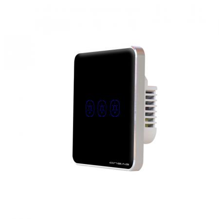Intrerupator Smart Onsag Luxury X803U-L Pro Black [5]