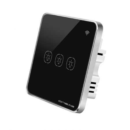 Intrerupator Smart Onsag Luxury X803U-L Pro Black [1]