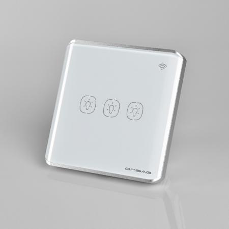 Intrerupator Smart Onsag Luxury X803U-L Pro White [1]