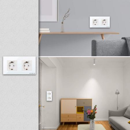 Priza Smart WiFi dubla Onsag X302 White [1]