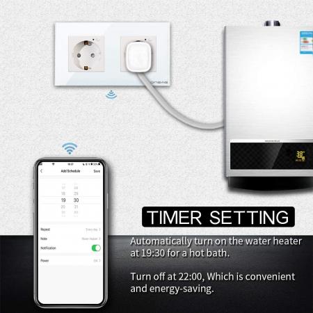 Priza Smart WiFi dubla Onsag X302 White [6]
