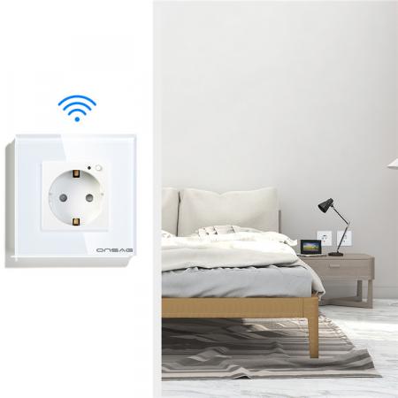 Priza Smart WiFi Onsag X301 White [6]