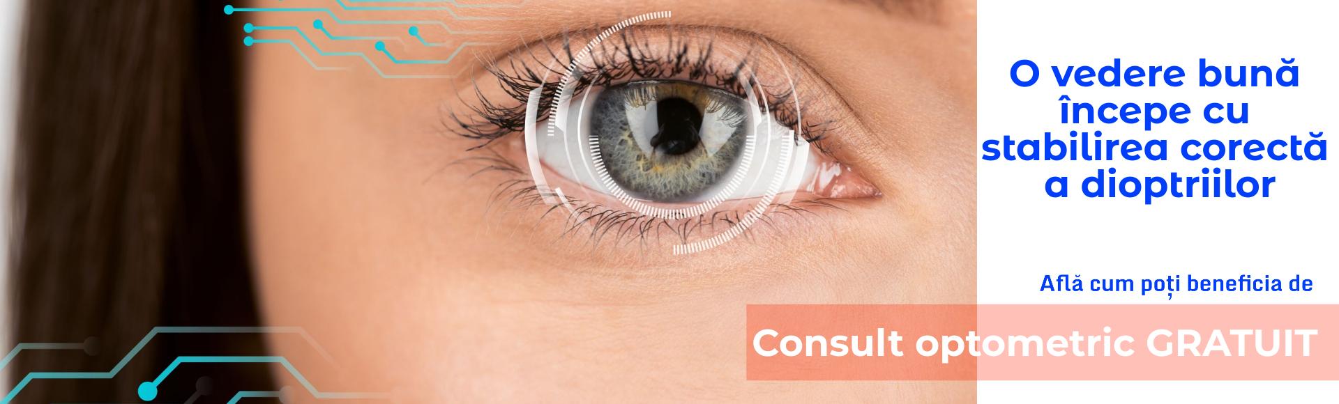 Consult optometric GRATUIT!
