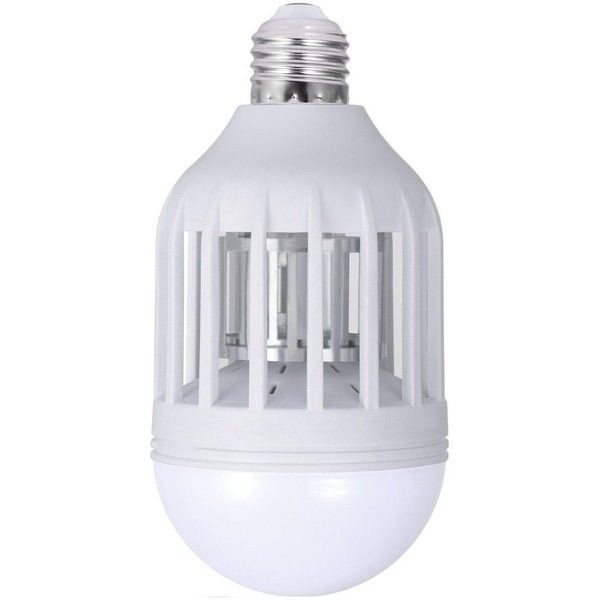 Bec LED antiinsecte cu lampa UV si capcana pentru tantari ZappLight LED 60W 0