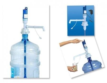 Pompa apa electrica pentru bidon mare 17 - 20 litri 0
