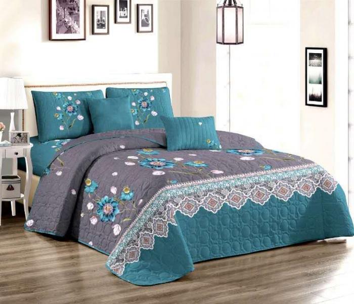 Cuvertura pat dublu din BUMBAC 3 piese Octavian 0