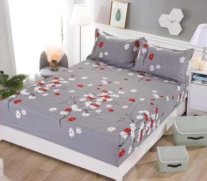 Husa de pat + 2 fete de pern bumbac Finet H2-OR138 0