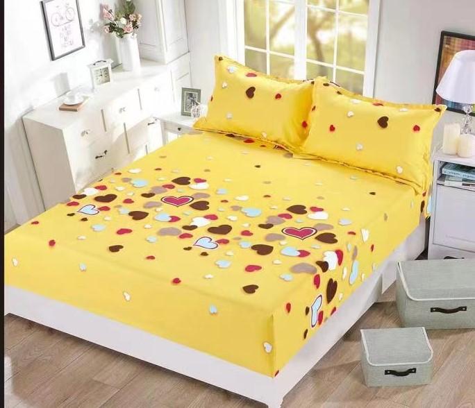 Husa de pat + 2 fete de perne bumbac Finet Lina 0