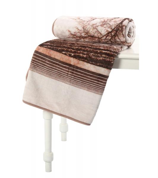 Pătură Moale Microfibră Wood 1