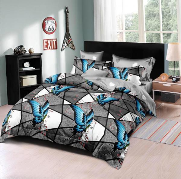 Lenjerie de pat din finet 6 piese Picasso 0