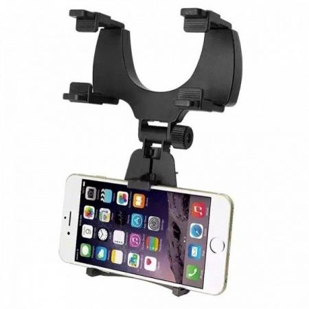 Suport telefon cu prindere pe oglinda retrovizoare0
