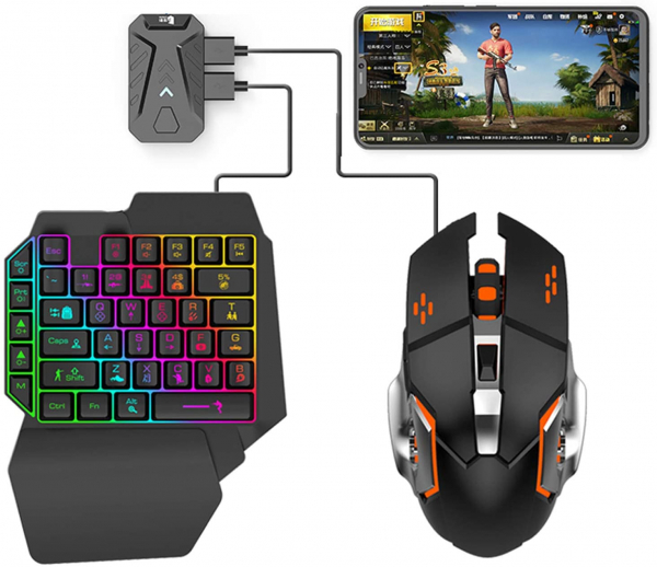 Mix Pro 4 in 1 combo game pack - compatibil iOs, Android, pentru PUBG, [0]
