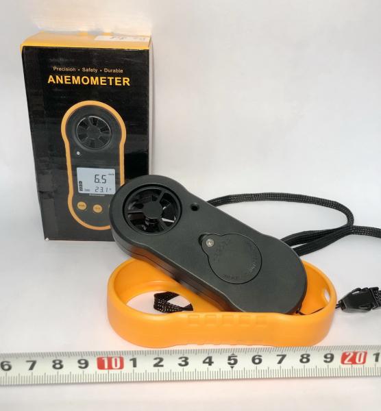Anemometru multifunctional Optimus AT RZ818 scara Beaufort temperatura viteza vant [3]