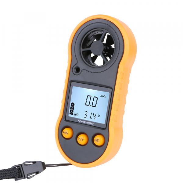 Anemometru multifunctional Optimus AT RZ818 scara Beaufort temperatura viteza vant [0]